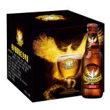 格林堡(GRIMBERGEN)胭脂红色啤酒 法国进口 330ml*8瓶 礼盒装 *2件 138.4元(需用 券,合 69.2元/件)