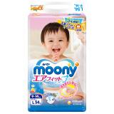 moony 尤妮佳 婴幼儿纸尿裤 L码 54片/包 68.33