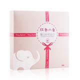 Baby elephant 红色小象 婴儿纱布浴巾 75.1元