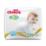 Chiaus 雀氏 薄+C引力 纸尿裤 S27片19.9元 19.90