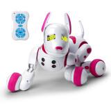 知识花园儿童玩具 宝宝益智玩具 男孩女孩可充电机器人机器狗 粉色 139元