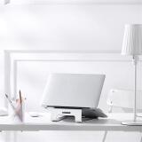 京东京造 铝合金笔记本散热支架 Macbook苹果电脑支架 笔记本电脑散热架 银色 适用于小米联想等笔记本 *2件 104.4元(合52.2元/件)
