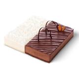 bestcake 贝思客 黑白配牛奶巧克力生日蛋糕 1.2磅 88元