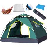 狼行者 全自动户外帐篷3-4人休闲防水免搭建双人露营帐篷套装 LXZ-1002-1 基础款套餐 *3件 337.8元(合112.6元/件)