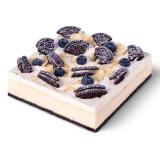 限地区:BestCake 贝思客 奥利奥雪域牛乳芝士蛋糕 1.2磅 68元包邮(需用券)
