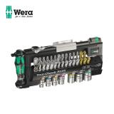 德国进口wera维拉五金维修手工具Tool-Check 迷你棘轮扳手套筒批头套装工具箱公制39件套 562元(需用券)