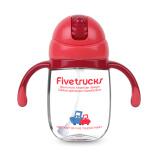 五个小卡车 Five trucks 宝宝学饮杯重力球款 红色 260ml *2件 59元(合 29.5元/件)