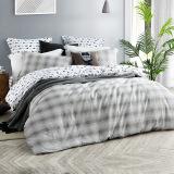 LOVO家纺 罗莱生活出品全棉四件套纯棉双人床品套件 灰色轨迹 1.8米床(被套220x240cm) 269.9元