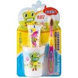 青蛙王子(FROGPRINCE)NO.321爱芽星儿童护理套装牙刷 *12件 121.6元(合10.13元/件)