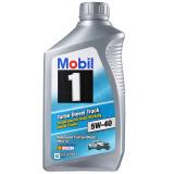 美孚(Mobil)1号 5W-40 柴汽通用 1Qt 全合成机油 美国原装进口 *11件 549.77元(合 49.98元/件)