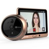 萤石DP1(棕色) 智能猫眼 摄像头 电子猫眼 可视门铃 防盗门监控 海康威视旗下品牌 659元