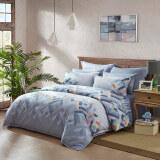 LUOLAI罗莱家纺 纯棉四件套 全棉床品套件床上用品床单被套 WAD5088-4 梦境魔方220*250cm 399元