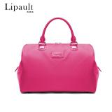Lipault时尚轻便旅行包 出差旅行袋大容量手提包轻便旅游行李包女P51*77009塔希提粉 285元
