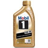美孚金装美孚1号0W-20全合成机油润滑油 SN级 1L 105元