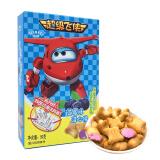 超级飞侠 蓝莓味灌心饼干 果味卡通注心饼干 儿童零食点心 50g/盒 *6件 24.48元(合4.08元/件)