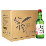 真露(JINRO)烧酒 韩国进口20.1°竹炭酒 360ml*6瓶 连包 *3件 180元(合 60元/件)