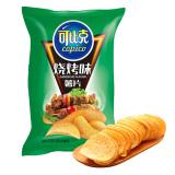 可比克 烧烤味 薯片 60g *3件 10.29元(合 3.43元/件)