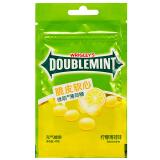 绿箭(DOUBLEMINT)脆皮软心薄荷糖柠檬薄荷味40g袋装 3元