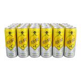 Schweppes 怡泉 +C 柠檬味汽水 330ml 24罐 铝罐装 *2件 99.8元(合49.9元/件)