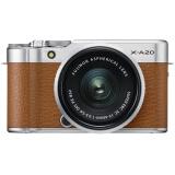 FUJIFILM 富士 XA20 数码相机套机(15-45mm)摩卡棕
