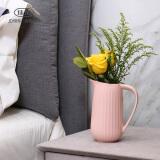 京东PLUS会员:佳佰 A0528A 北欧创意陶瓷花瓶 18元(需用券)