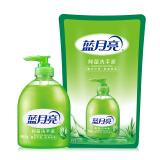 蓝月亮 芦荟抑菌 滋润保湿洗手液 500g瓶+500g袋装补充装 11.7元