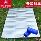 防潮垫单人宿舍 学生 加厚 地垫铝膜垫露营帐篷睡垫 户外野餐垫 200CM*100CM(加厚款) 18元