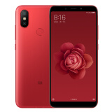 MI 小米6X 全网通 智能手机 6GB 64GB 赤焰红 1299元