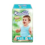 可哆(KooDoo)纸尿裤 金装云柔婴儿尿不湿 中号M码60片 *3件 108.5元(需用券,合36.17元/件)