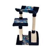 伊丽宠具京东自营 宠物猫爬架 夏威夷风猫树 猫架子加菲 布偶 蓝猫 幼猫猫玩具 123元