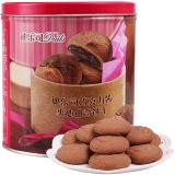 马来西亚进口 迪乐司(Delos)巧克力酱夹心曲奇饼干300g *5件 99.5元(合19.9元/件)