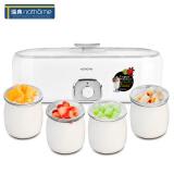 瑞典北欧欧慕(nathome)NSN601 家用酸奶机 自制老酸奶机 玻璃内胆 带4分杯优质玻璃杯 *5件 315元(合 63元/件)