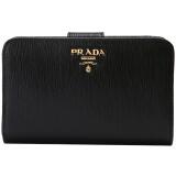 PRADA 普拉达 女士黑色牛皮短款钱包钱夹 1ML225 2EZZ F0002 2449.5元 2449.50