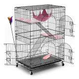 英伦印象 CAT-780 宠物猫笼 三层豪华型 黑色 259元包邮