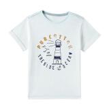 全棉时代(PurCotton)男童针织竹节纱短袖T恤 67.55