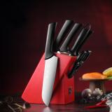 张小泉 锋彩系列七件套 刀具套装 不锈钢套刀D30980100 119元