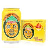 广氏 菠萝啤酒 330ml*24罐 45元