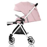 爱贝丽(Ibelieve)婴儿推车京东自营婴儿车儿童童车超轻便高景观可坐可躺手推车0-3岁宝宝婴儿车 玲珑3代粉 709元