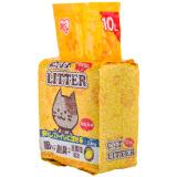 爱丽思 IRIS 猫砂 低尘轻型猫砂 BYK-10L柠檬味 *7件 123元(合 17.57元/件)