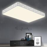 HAIDE 海德照明 雪花 LED客厅吸顶灯 116W 长方形 349元(需用券)