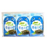 韩国进口 海地村 紫菜海苔 儿童零食 橄榄油宝贝海苔 12g *5件 39.5元(合7.9元/件)