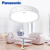 松下(Panasonic)吸顶灯遥控调光调色客厅灯卧室灯具圆形现代简约灯具HHLAZ2092缎带水晶 28W 299.5元