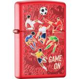 之宝(Zippo)打火机 激情足球系列-游戏开始 红哑漆 双面彩印 233-C-000011 86元