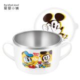 迪士尼(Disney) 妙趣米奇儿童不锈钢碗 650ml *2件 157元(合 78.5元/件)