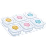 JDCOCO 集得 婴儿辅食存储盒 6个装 80ml *8件 182元(合22.75元/件)