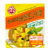 韩国进口 不倒翁奥土基咖喱 韩式调味料 原味苹果咖喱块 盒装 100g *4件 57.6元(合14.4元/件)