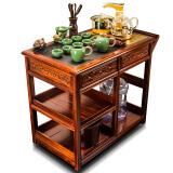 慈空 移动茶台茶车带轮茶具套装 1881.6元
