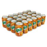美年达 Mirinda 橙味 碳酸饮料 330ml*24听 百事可乐出品 (新老包装随机发货) *2件 48.9元(合24.45元/件)