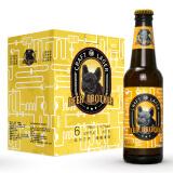 比尔兄弟 精酿拉格啤酒 国产黄啤 330mk*6瓶 24元包邮(需用券) 24.00