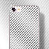 摩米士(MOMAX)苹果8/7手机壳 iPhone8/7手机保护套 碳纤维纹理耐磨防撞保护壳 银色 *3件 20.79元(合6.93元/件)